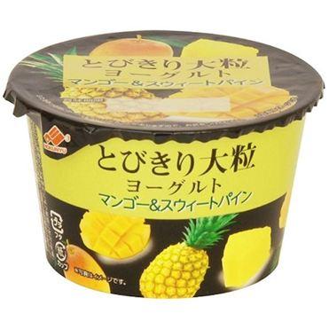 北海道乳業 とびきり大粒ヨーグルト マンゴー&スウィートパイン 120g