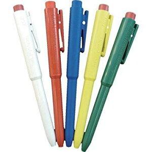 66216101バーテック バーキンタ ボールペン J802 本体:白 インク:赤 BCPN-J802 WR8563133【smtb-s】