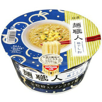 日清食品 麺職人 柚子しお 1食