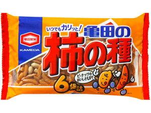 亀田製菓 柿の種6袋200g