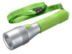 オーム電機 07-8916 LEDライト ウナルーチェII(50 lm/単3形×2本付属/連続点灯時間20時間/グリーン) LHP-05C5-G