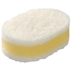 ラバーゼ (la base) La base ( ラバーゼ ) キッチンスポンジ ( 白×白 )