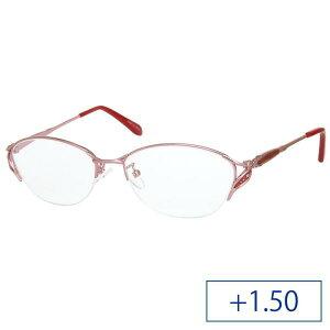 メーカーブランド リーディンググラス 見えるんデス 老眼鏡 UN39 レディース +1.50 ピンク (1214894)【smtb-s】