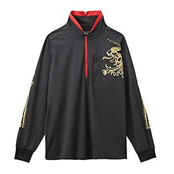 サンライン テラックスクール ドライシャツ(長袖) SUW-5566CW ブラック 3L【smtb-s】