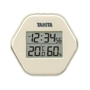 タニタ(Tanita) 温度計・湿度計 アイボリー デジタル デジタル温湿度計 TT-573-IV【smtb-s】