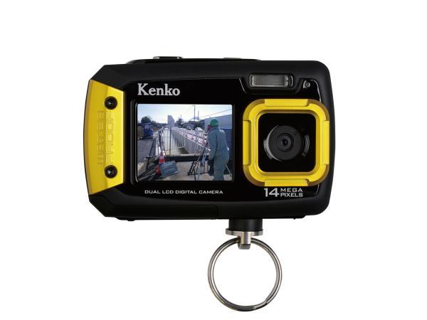 ケンコー 防水デジタルカメラ(両面モニター付き) DSCPRO143-6143-11【smtb-s】