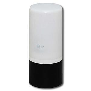 アイリスオーヤマ 電池式ガーデンセンサーライト ブラック/ホワイト ZSL-SEW