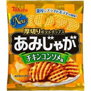 東ハト あみじゃがチキンコンソメ味(60g)【入数:12】【smtb-s】