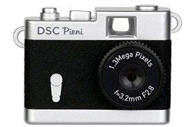 ケンコー [クラシックカメラ風デザインの超小型トイデジタルカメラ] DSC Pieni ブラック(DSC-PIENI BK)