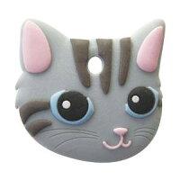 ワールド商事(ワールド)ペットキーカバー猫サバトラ20725663