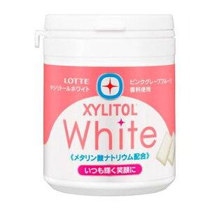 ロッテ キシリトールホワイト<ピンクグレープフルーツ>ファミリーボトル【入数:6】【smtb-s】