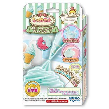 セガトイズ(SEGA TOYS) シュワボムクリームミントグリーン しゅわボム 別売りクリームのこな ミントグリーン
