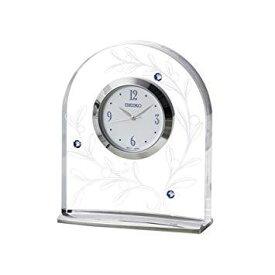 セイコークロック(Seiko Clock) セイコー クロック 置時計 アナログ L'espoir レスポワール オリーブ 模様 UF521S SEIKO【smtb-s】