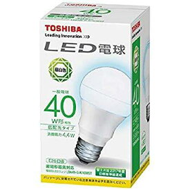 東芝 LDA4NGK40WST LDA4N-G-K/40WST LED電球 昼白色【smtb-s】