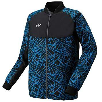 ヨネックス メンズウィンドウォーマーシャツ 品番:70060 カラー:ブラック/ブルー(188) サイズ:S【smtb-s】