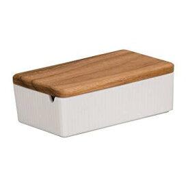 ワールドクリエイト 商品コード:BBT9401 ViV(ヴィヴ)バターケース 26251 ホワイト【smtb-s】