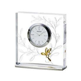 セイコークロック(Seiko Clock) セイコー クロック 置時計 アナログ L'espoir レスポワール オリーブ 模様 UF520S SEIKO【smtb-s】