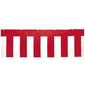 ササガワ タカ印 40-7573 紅白幕 縦900mm×長さ7.2m テトロン製 (1178029)【smtb-s】