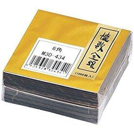 マイン M30-434懐敷金銀6cm角(1000入)【smtb-s】