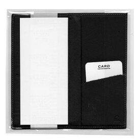 コレクト 手帳カバー プログラムシリーズ 本革製 黒 紙幣サイズ用 CP-710-BK (1101576)【smtb-s】