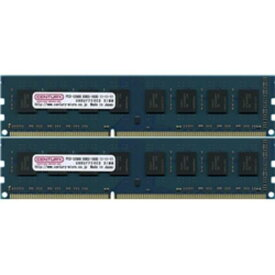 センチュリーマイクロ デスクトップ用 PC3-12800/DDR3-1600 16GBキット(8GB 2枚組) DIMM 日本製(CK8GX2-D3U1600)【受発注品・注文後キャンセル不可】【smtb-s】