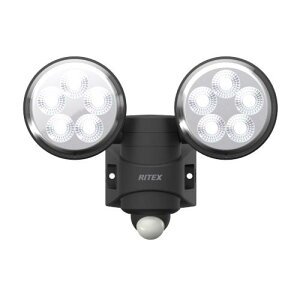 ライテックス LED-AC208 センサーライト100v 4.5w×2灯【smtb-s】