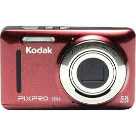 マスプロ電工 コダック コンパクトデジタルカメラ PIXPRO FZ53 レッド(1台)【smtb-s】