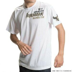 コッカ(Kokka) 男女兼用 スポーツTシャツ ハイキュー!! 梟谷学園 ロゴ X513-812 000 ホワイト Mサイズ (1243984)