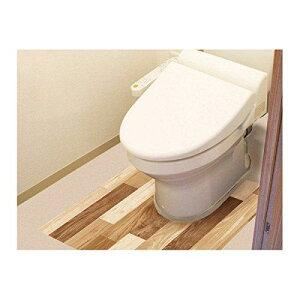 明和グラビア 防水模様替えシート トイレ床用 90cm×80cm LBr(ライトブラウン) BKTY-9080 (1099641)【smtb-s】