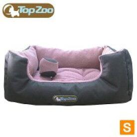 ラガーコーポレーション フランス TopZoo/トップズー ペットベッド ドゥドゥコージ キャンバスピンク S(W50×D38×H21cm) (1059352)