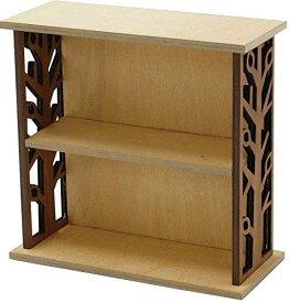 丸和貿易 飾り棚 木製 フォレコルティーレ 2段 ブラウン 400723902