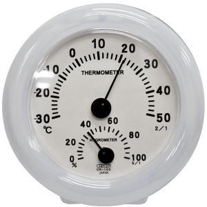 CRECER (クレセル) 室内用 温度・湿度計 CR108WD【smtb-s】