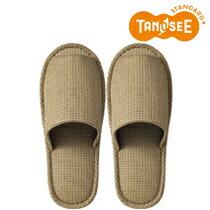 TANOSEE 外縫いスリッパ ラドクリフ ベージュ(DATM026BE)【smtb-s】