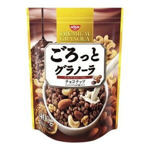 日清シスコ ごろっとグラノーラ チョコナッツ 400g【入数:6】【smtb-s】