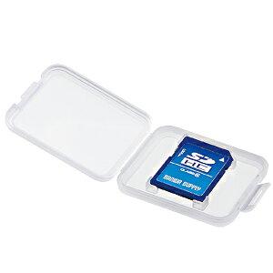 サンワサプライ メモリーカードクリアケース(SD用) 品番:FC-MMC10SD