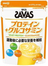 明治 ザバス プロテインプラスグルコサミン 約15食分(210g)【smtb-s】