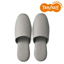 TANOSEE 吊り込み疲れにくいスリッパ ブライト グレー(DATM022GY)【smtb-s】