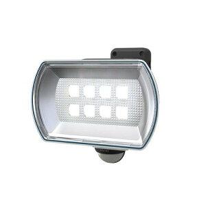 ムサシ 4.5Wワイド フリーアーム式LED乾電池センサーライトE42150 4047