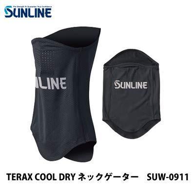 サンライン テラックス クールネックゲーター SUW-0911 ブラック フリー【smtb-s】