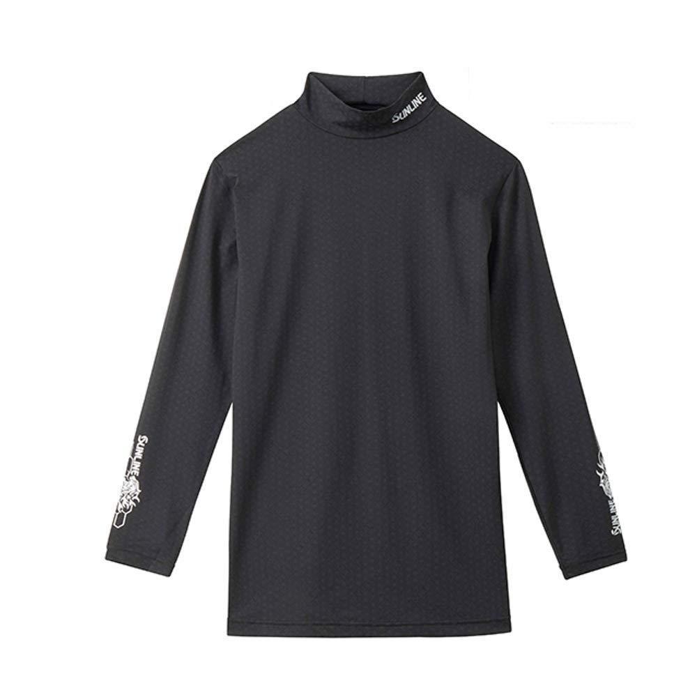 サンライン テラックス クールアンダーシャツ SUW-5535CW ブラック S【smtb-s】