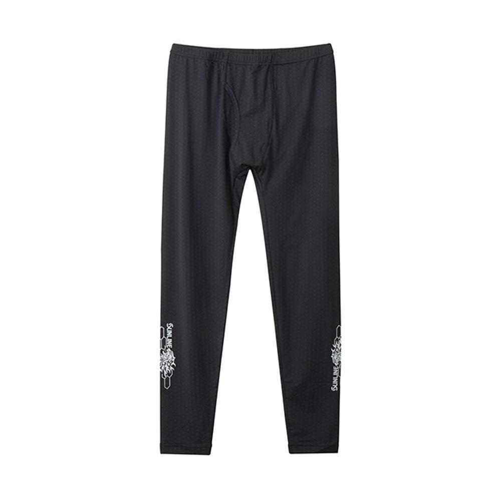 サンライン テラックス クールアンダーシャツ SUW-5536CW ブラック S【smtb-s】