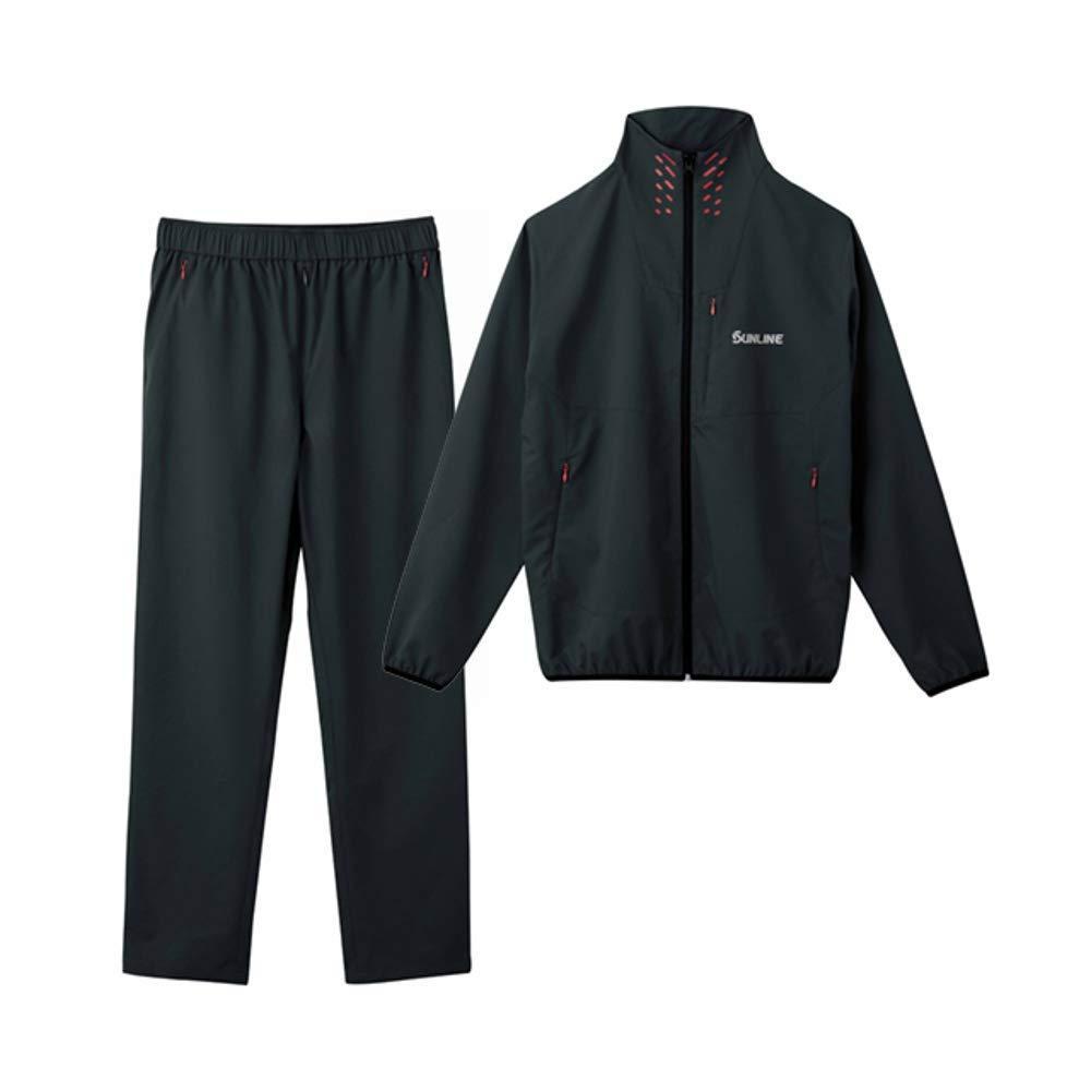 サンライン ライトストレッチスーツ SUW-3226 ブラック L【smtb-s】
