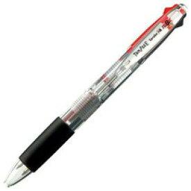 TANOSEE ノック式油性2色ボールペン(なめらかインク) 極細 0.5mm【入数:10】【smtb-s】