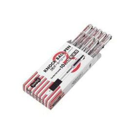 大塚商会 TANOSEE ノック式油性3色ボールペン(なめらかインク) 0.7mm【入数:10】【smtb-s】