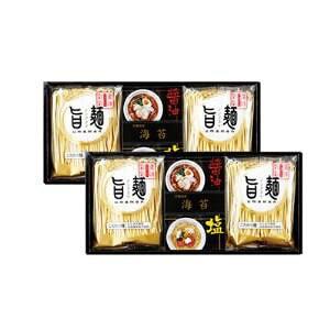 Giftの館 福山製麺所「旨麺」8食(磯紫菜付き) UM-CO【smtb-s】