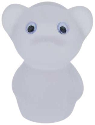 不二貿易 メガネホルダー ネズミ ホワイト【11421】 ※北海道、沖縄、離島配送不可【smtb-s】