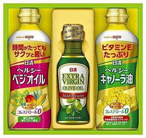 日清オイリオ オリーブオイル&バラエティオイルギフトセット【smtb-s】