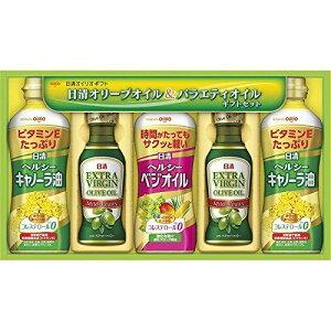 Gift Box 日清オイリオ オリーブオイル&バラエティオイルギフトセット【smtb-s】