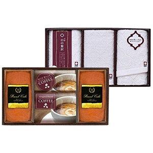Gift Box 今治製タオル&金澤パウンドケーキ・珈琲セット