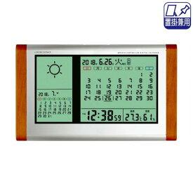 アデッソ カレンダー天気電波時計 TB-834【smtb-s】